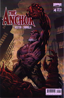 Cover B of The Anchor #4