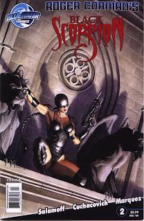 Cover of Roger Corman's Black Scorpion #2B Azim Akberali
