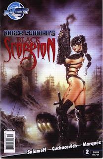 Cover of Roger Corman's Black Scorpion #2A Azim Akberali