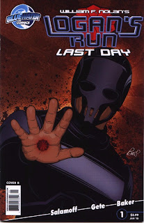 Cover B of Logan's Run: Last Day #1