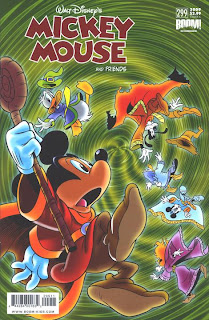 Cover A of Mickey Mouse And Friends #299 from Boom Kids