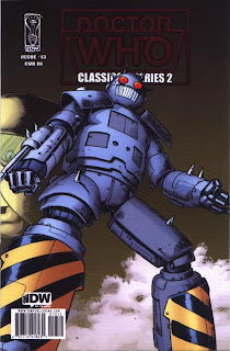 Cover RI of Doctor Who Classics Series 2 #13 from IDW