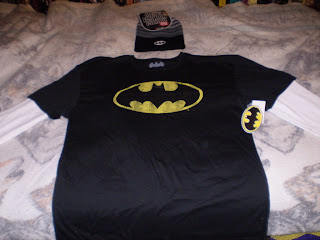 Batman beanie and shirt combo