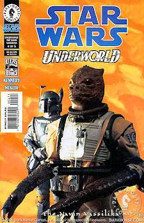 Photo cover of Star Wars: Underworld - The Yavin Vassilika #5 from Dark Horse