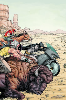 Cover of Batman Inc. #6 from DC Comics