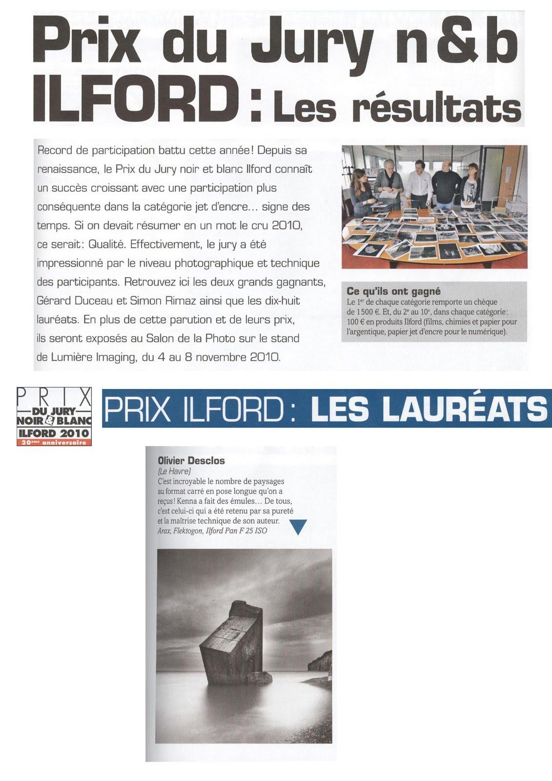 Olivier desclos prix du jury noir et blanc illford 2010 for Prix du gravillon blanc