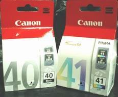 CANON PG 40 & CL 41