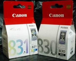 CANON PG 830 & CL 831