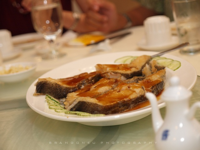 Brandoneu 39 39 fine dining in kuching for Can you eat fish everyday