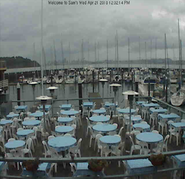 CA:  Tiburon, Sam's Anchor Café