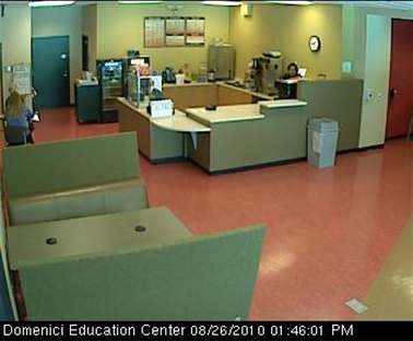 NM:  Albuquerque, U. of New Mexico, Domenici Educ. Ctr., Espresso Café