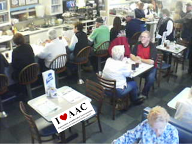AAC Promotion Idea:  Maine Diner in Wells, ME