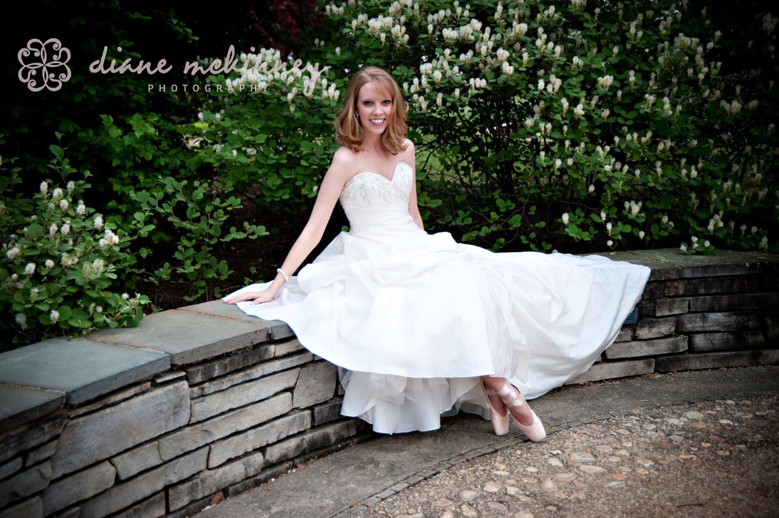 diane mckinney photo gorgeous ballerina bride in duke gardens raleigh wedding photographer. Black Bedroom Furniture Sets. Home Design Ideas