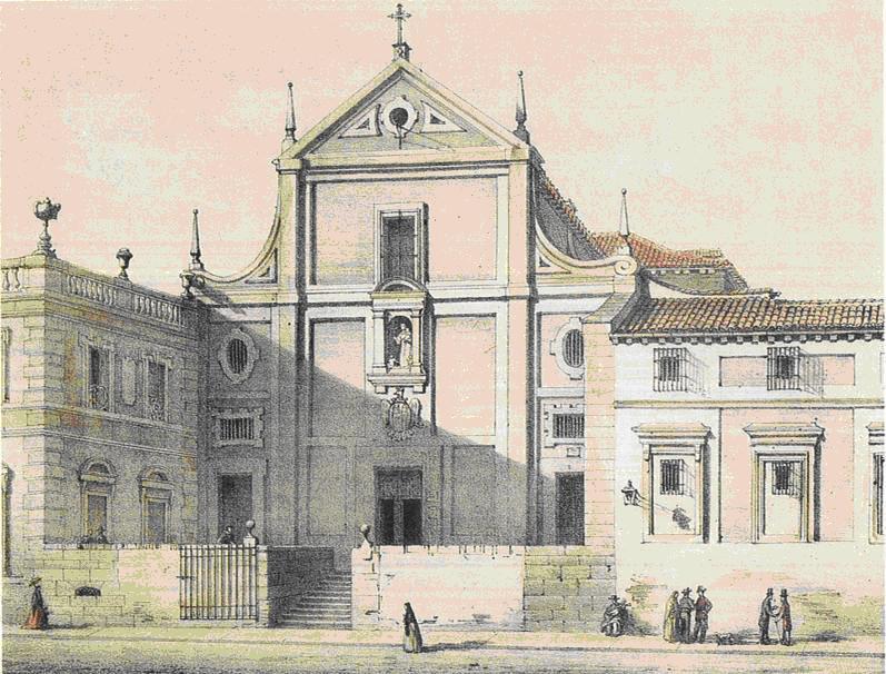Jubylandia edificios religiosos destruidos for Calle prado de la iglesia guadarrama