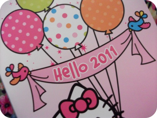 Hello (Kitty) 2011: the calendar
