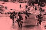 C.CAÇ. 3309 no rio Metumbué