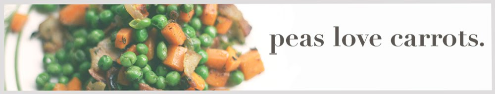 Peas Love Carrots - A blog about edible chemistry...