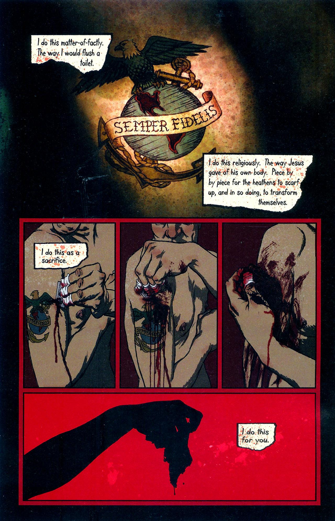 Read online Se7en comic -  Issue #6 - 6