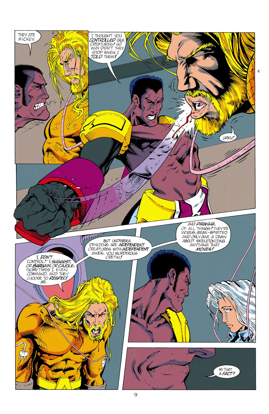 Aquaman (1994) Issue #2 #8 - English 10