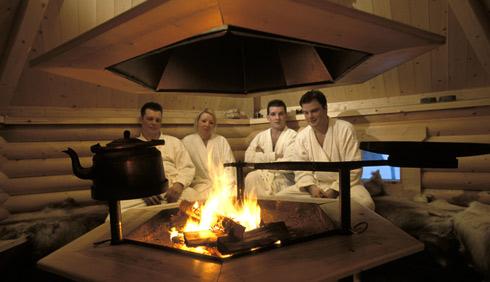 El conventillo de la muse loga costumbre muse stica la - Que es una sauna ...