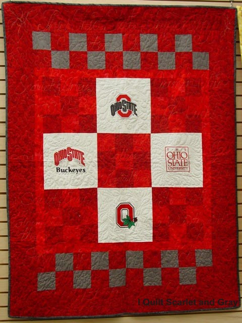 I Quilt Scarlet and Gray: Scarlet and Gray Quilts Past and Present : ohio state quilt kits - Adamdwight.com