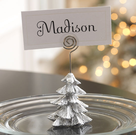 shelley b decor and more christmas name card place card holders. Black Bedroom Furniture Sets. Home Design Ideas