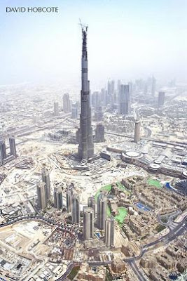 Burj Dubai Picture by David Hobcote