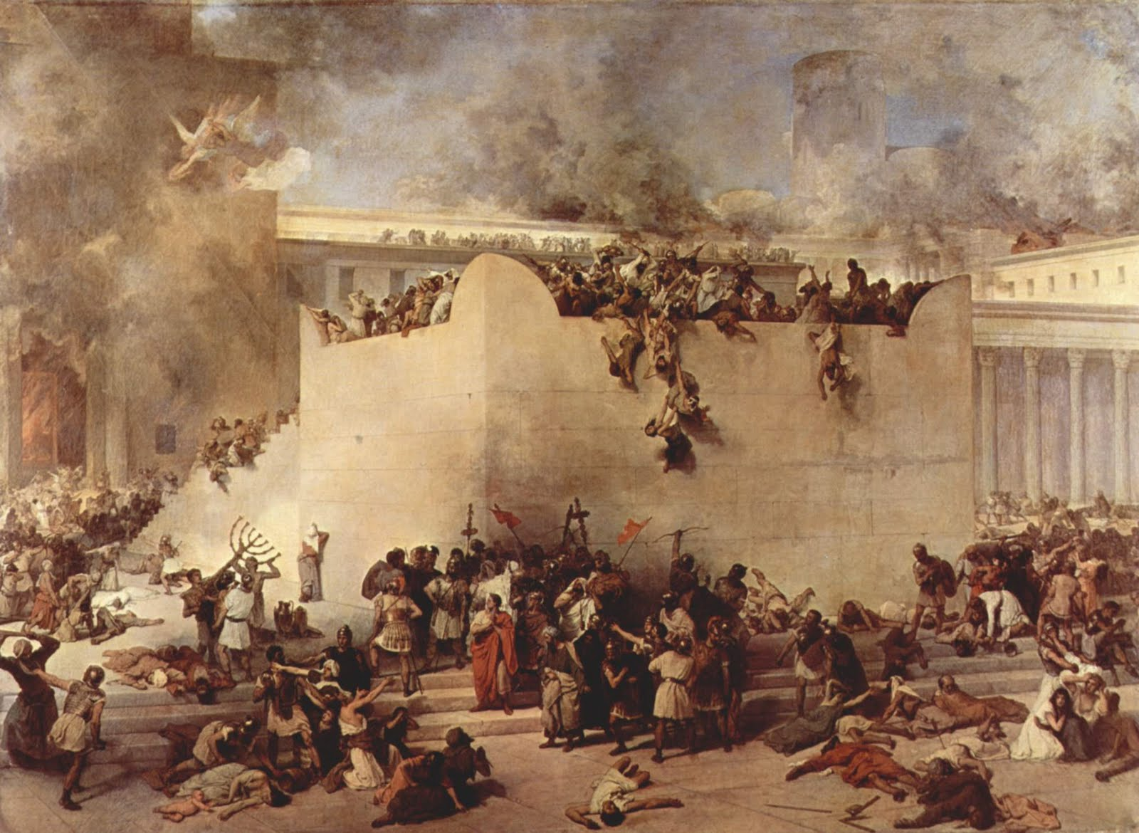 Resultado de imagem para o fim de jerusalem