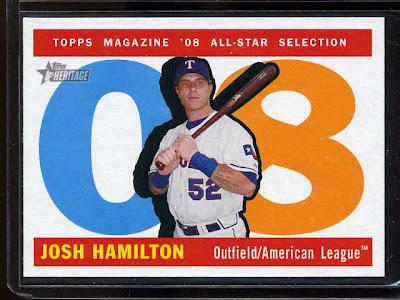 2009 Topps Heritage Josh Hamilton