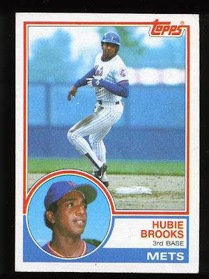 1983 Topps Hubie Brooks