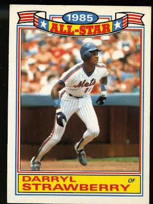 1986 Daryl Strawberry All Star