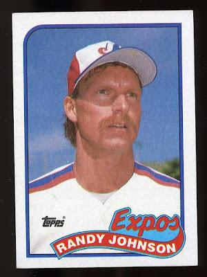 1989 Topps Randy Johnson