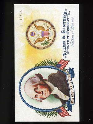 2009 Allen & Ginter National Heroes George Washington