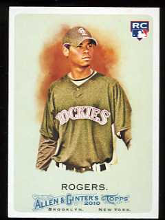 2010 Allen and Ginter Esmil Rogers