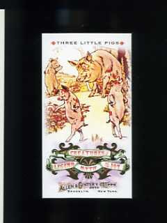 2010 Allen & Ginter Creatures of Legend, Myth and Joy Three Little Pigs