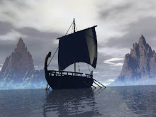un barco...