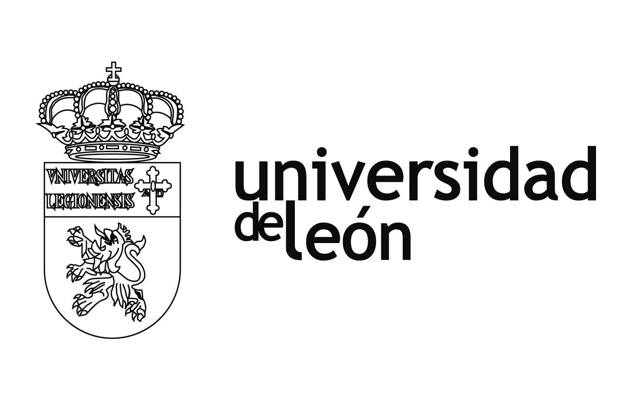 Resultado de imagen de Universidad de leon logo b/n