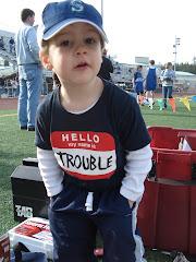 Hello trouble!