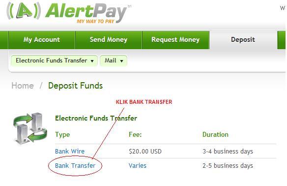 envoy bank transfer