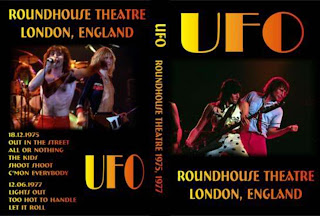 UFO - Live at the Roundhouse Theatre 1975/1977 affiche