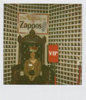CB Whittemore is Zappos Royalty