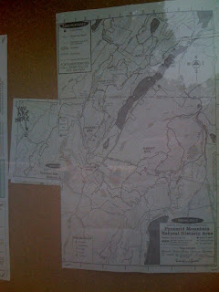 New Pyramid Mountain Trail Map