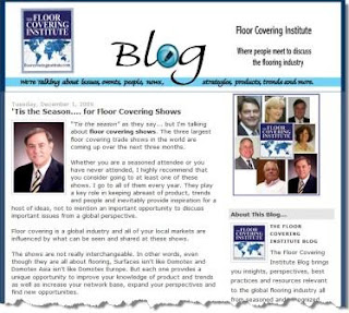 Floor Covering Institute Blog