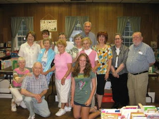 Friends of the Kinnelon Library Book Sale volunteers