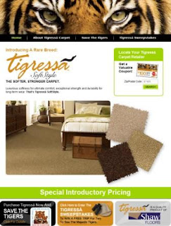 Tigressa SoftStyle Carpet from Shaw