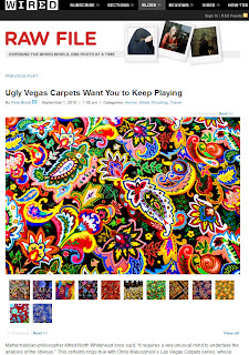 Wired: Ugly Vegas Carpets Want You to Keep Playing