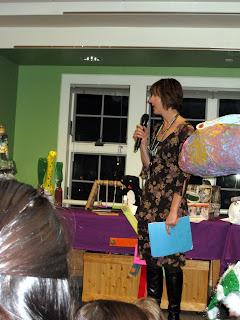 Nancy McMurrer, Kinnelon Librarian and champion for the Trash 2 Treasure program