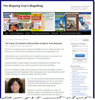 Attract Customers With Content: Magalog Guy Interview