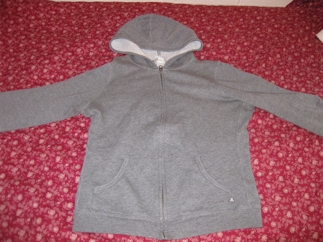 sweatshirt before tailoring