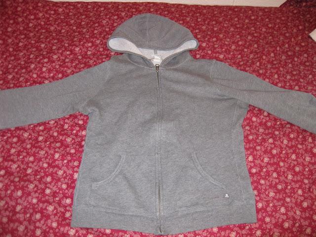 sweatshirt before tailoring